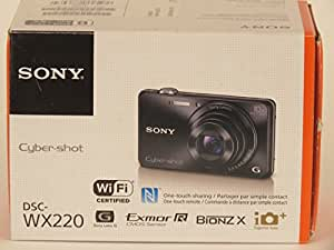 SONY デジタルカメラ Cyber-shot WX220 光学10倍 ブラック DSC-WX220-B
