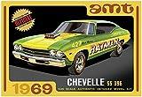 AMT 1/25 1969 シェビー シェベルSS 396 プラモデル AMT1138