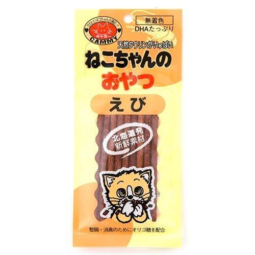 ノースペット キャミー ねこちゃんのおやつ えび味 20g