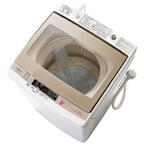 アクア 7.0kg 全自動洗濯機 ホワイトAQUA AQW-GV700E-W