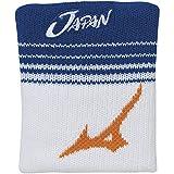 [Mizuno] テニスウェア JAPAN リストバンド 62JY9X02 シアン 日本 F (FREE サイズ)