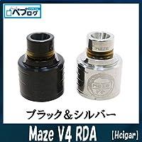 Hcigar エイチシガー Maze メイズ V4 RDA 直ドリ 電子タバコ 爆煙 (ブラック)
