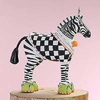 Patience Brewster Christmas Home Decor Mini Zeke Zebra Ornament 30998 [並行輸入品]