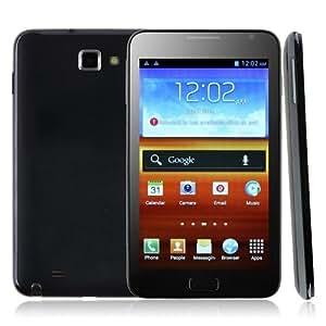 i9220++ スマートフォン Android 4.0 3G GPS 5.2 インチ800万画素携帯(ブラック)