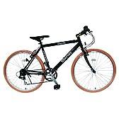 My Pallas(マイパラス) クロスバイク 26インチ 6段変速 可動式ステム GR-001G