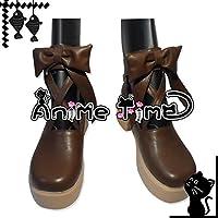 ●●サイズ選択可●●女性25CM MJS1125 コスプレ靴 ブーツ ローゼンメイデン 金糸雀 かなりあ