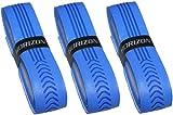 【HORIZON ホライズン】3本セット バット用 極上の握り心地 ウェットグリップテープ ブルー ソフトボール