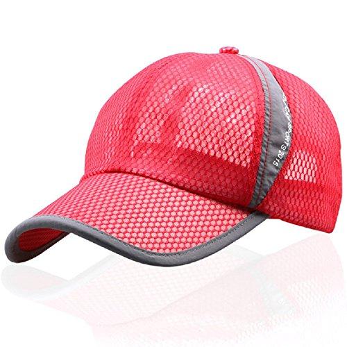 Zhaozhe キャップ テニス 通気性良好メッシュ スポーツ ランニングキャップ 紫外線対策 カジュアル 男女兼用