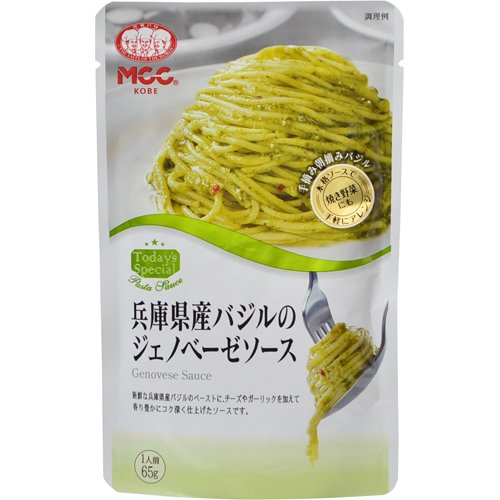 MCC 兵庫県産バジルのジェノベーゼソース 65g フード 調味料・油 パスタソース [並行輸入品]