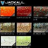 JACKALL(ジャッカル) ワーム チャンクロー ソルトRF 3.5インチ レッドゴールドフレーク
