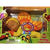 Sleeping Insect Kidsバタフライwithライトアップ面ベビー人形