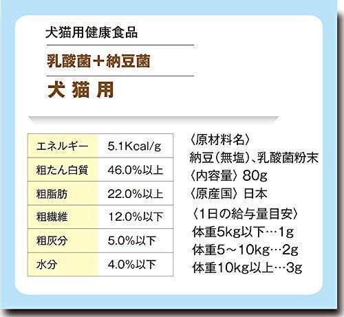ラクトミール乳酸菌+納豆菌