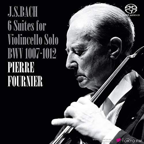 ピエール・フルニエ / J.S.バッハ : 無伴奏チェロ組曲全曲 BWV1007-1012 (J.S.Bach: 6 Suiten fur Violoncello solo BWV1007-1012 / Pierre Fournier) [SACDシングルレイヤー] [STEREO] [国内プレス] [日本語帯・解説付]