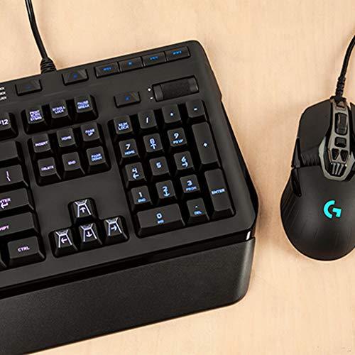 『ゲーミングキーボード メカニカル Logicool ロジクール G910r ブラック メカニカル Romer-G RGB パームレスト 専用メディアコントロール 国内正規品 2年間メーカー保証』の6枚目の画像