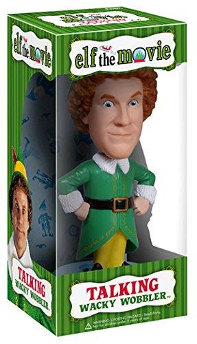 映画 elf(エルフ 〜サンタの国からやってきた〜)Buddy(バディ)TALKING WACKY WOBBLER BOBBLE-HEAD【並行輸入品】