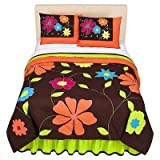 Best Bacati布団セット - Valley of Flowers Full/Queen Comforter set by Bacati Review
