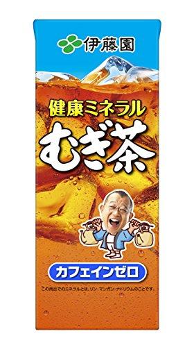 健康ミネラルむぎ茶 紙パック 250ml ×24本