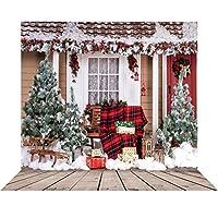 GooEoo 10×10フィート美しいクリスマスのテーマ絵布カスタマイズされた写真の背景背景スタジオ支柱10280
