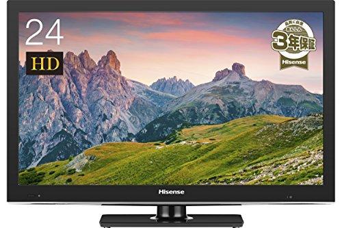 ハイセンス 24V型 液晶 テレビ HJ24K3120 ハイビジョン 外付けHDD録画対応 裏番組録画 メーカー3年保証