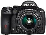 RICOH IMAGING PENTAX ペンタックス K-50 レンズキット ブラックの画像