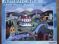 Steve Klein Americana 1000 Piece Jigsaw Puzzle