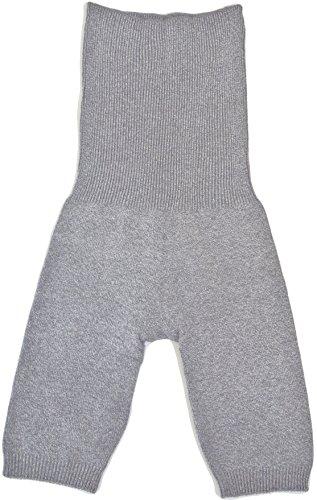 (カサネラボ)kasane lab. 内絹外綿の腹巻パンツ (グレー)