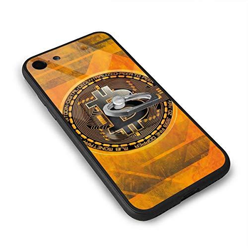 Epoch Ray ビットコイン動機 心に強く訴える ガラス スマホケース IPhone7/8 ケース IPhone8 ケース / IPhone7 ケース 携帯カバー アイフォン7/8カバー 滑り止め おしゃれ 軽量 薄型 人気