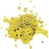 D DOLITY 紙吹雪 パーティー 飾り 四角形 キラキラ 3色選べ - ゴールド