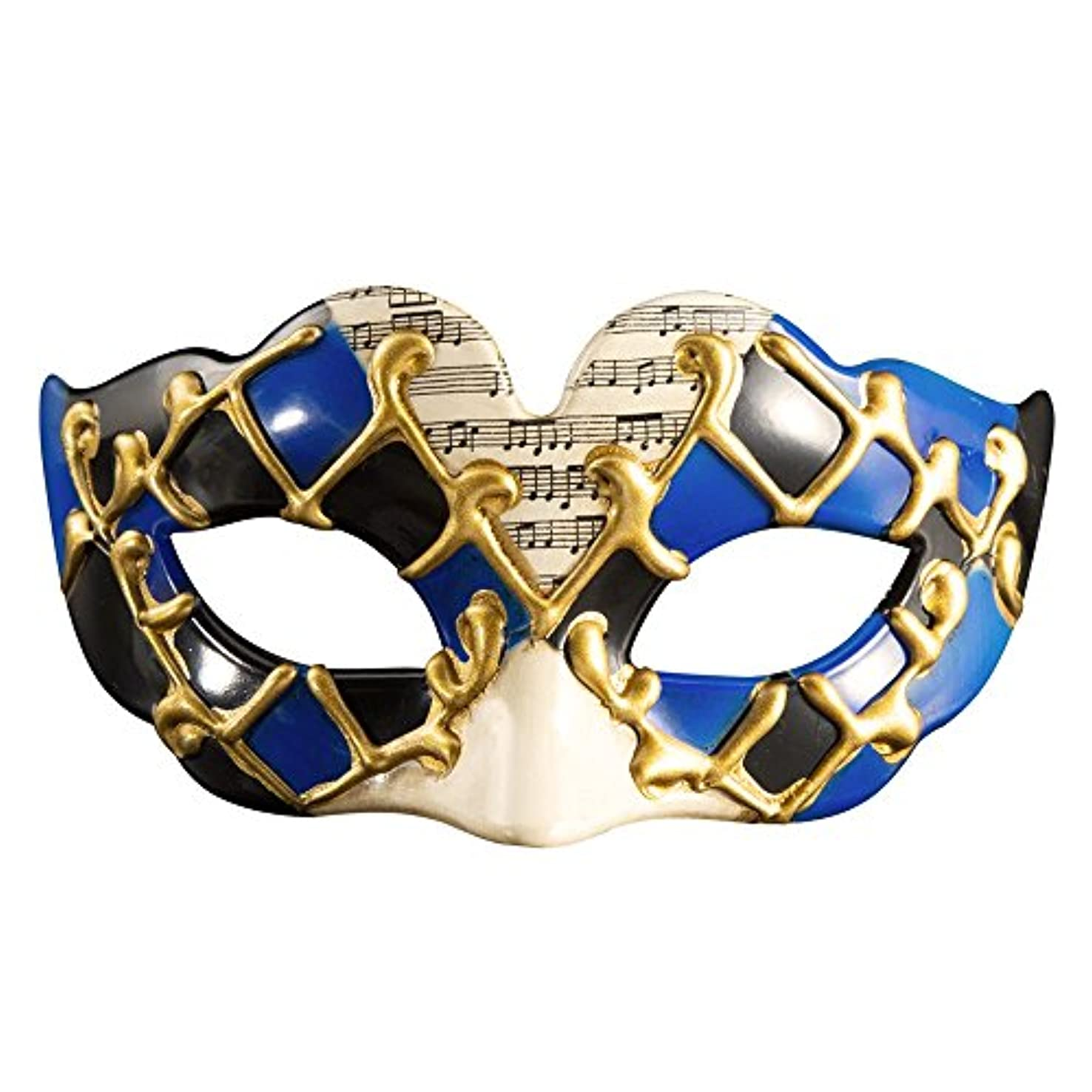 レビューベル囚人クリエイティブキッズハーフフェイスハロウィンマスクパーティー新しいファンシードレスボールマスク (Color : #1)