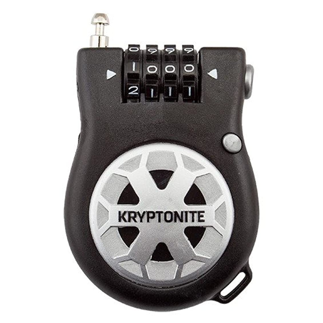 取り壊すかかわらずオーバーコートKryptonite Kryptoflex Retractor R2 Pocket Combo Cable bicycle lock by Kryptonite