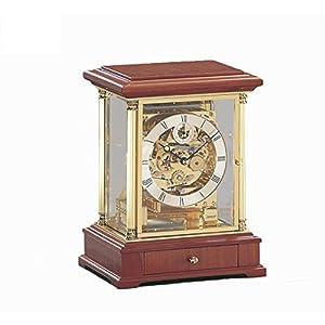 キニンガー 置き時計・掛け時計 ブラウン 26.5×20×16㎝