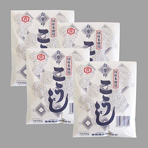 白雪印 国産米使用こうじ(乾燥) (800g(200g×4個))