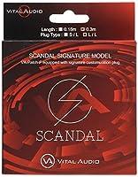 Vital Audio SCANDALシグネチャーギターケーブル VA-Patch-F/SD 0.3m L/L