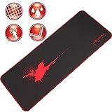 テンモス マウスパッド キーボードパッド 大型 防水レーザー&光学式マウス対応 滑り止め FPSゲーム向けゲーミング マウスパッド PC ラップトップfmous03 赤い