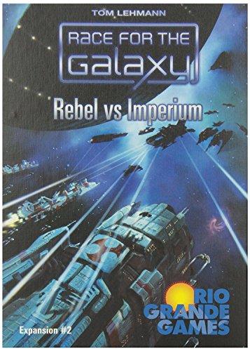 レース・フォー・ザ・ギャラクシー 帝国対反乱軍 (Race for the Galaxy: Rebel Vs. Imperium) [並行輸入品] カードゲーム