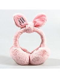 CJC 耳カバー イヤーマフ イヤーマフは暖かい冬の女の子を折りたためる4つの種類の色を保つ (色 : 1)