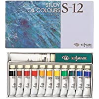 クサカベ 油絵具 習作用 油絵具セット 11色セット S-12 20ml