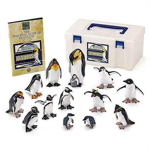 立体図鑑リアルフィギュアボックス ペンギン