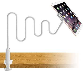 ZUINN スマホアームスタンド&スマホホルダー 2019進化版 スタンドフレキシブルアーム 360度回転 角度調整可能 充電対応可能 滑り止め ベッド 卓上ホルダー 寝ながらベット用スタンド 携帯電話充電スタンド iPhone XS/XS Max/XR/X/8 plus/7/7plus/6s 6plu/Sony Xperia/Nexus/ipad/android対応