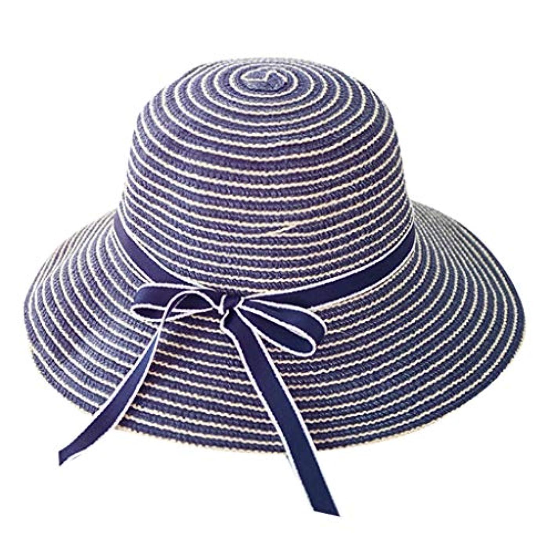 口実許可する十キャップ 帽子 サンバイザー 漁師の帽子 UVカット 帽子 レディース 麦わら帽子 uv帽 つば広 ビーチ おしゃれ 可愛い ハット キャップ 通気性抜群 日除け UVカット 紫外線対策 薄手 スポーツ シンプル 蝶結び