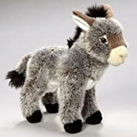 Stuffed Animal Donkey 11 inches/10 inches 28cm/25cm Plush Toy Soft Toy [並行輸入品]