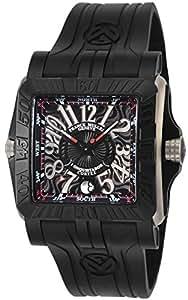 [フランク ミュラー]FRANCK MULLER 腕時計 コンキスタドール コルテス グランプリ ブラック文字盤 10800SCDTGPG-BLK メンズ 【並行輸入品】
