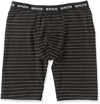 (ブロス)BROS パンツ 【DRY FIT PANTS】 ひざ下丈・前開き GT3631  BL L