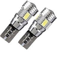 SONONIA 自動車 T10 5630 6SMD LEDライト 電球 HID エラー フリー ウェッジ DC 12V  2個入り