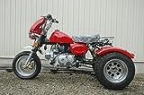 静音モデル 125ccトライク完成車 赤色クラッチありタイプ デフ付 好燃費 ZH-SR125-3L