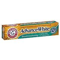 Arm & Hammer アドバンスホワイト重曹歯磨き粉、フロストミント6オズ(12パック) 12のパック