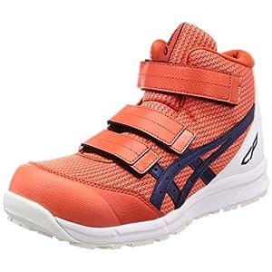 [アシックスワーキング] 安全/作業靴 FCP203 チェリートマト/インディゴブルー 26 cm
