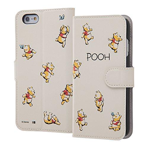 iPhone 6/6s ディズニーキャラクター/手帳型ケース マグネット/プーさん18
