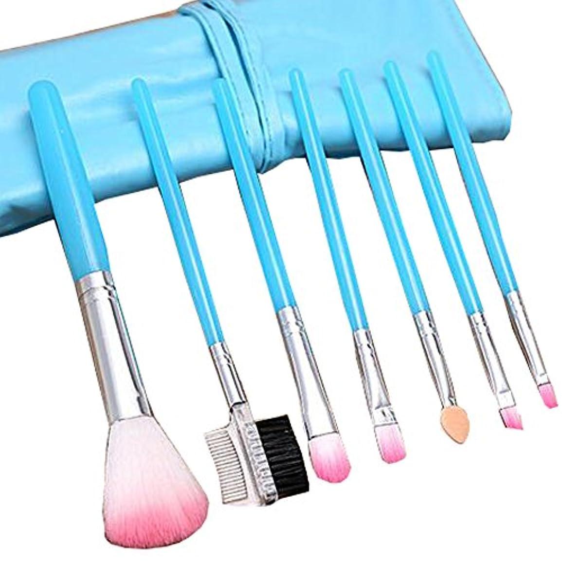 気性柔和抜け目のないポータブルメイクブラシツール化粧品基礎メイクブラシセット