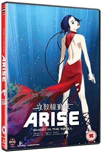 攻殻機動隊 ARISE border:3 & 4 DVD-BOX (2作品, Ghost Tears & Ghost Stands Alone) こうかくきどうたい アライズ 士郎正宗 アニメ [DVD] [Import] [PAL, 再生環境をご確認ください]